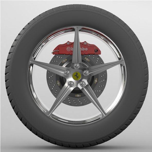 Wheel Ferrari