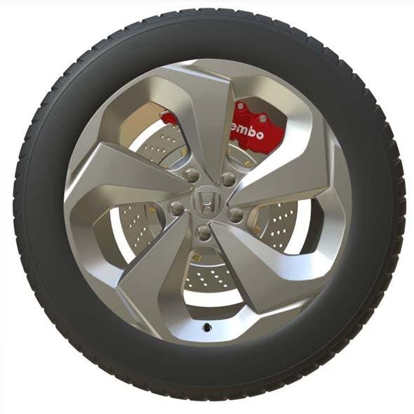 Honda Wheel 2