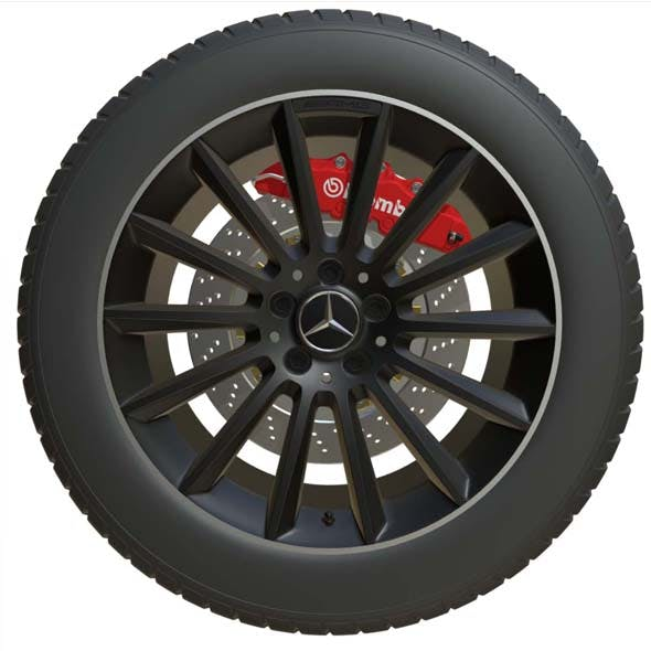 Mercedes Benz Wheel 2
