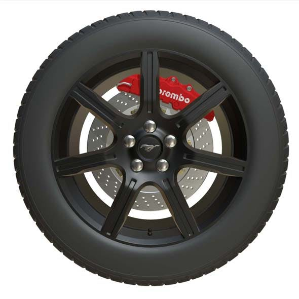 mustang wheel