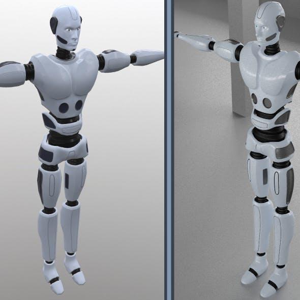Robot man - 3DOcean Item for Sale
