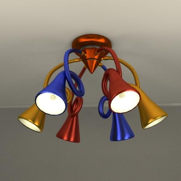 Lamp 6P - 3DOcean Item for Sale