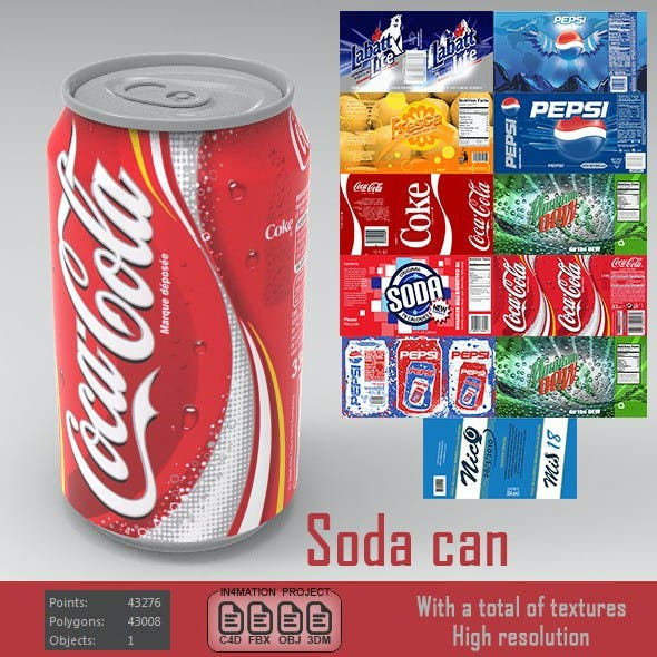 Soda can ( various types )