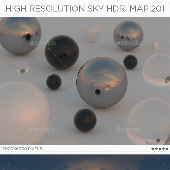 High Resolution Sky HDRi Map 201