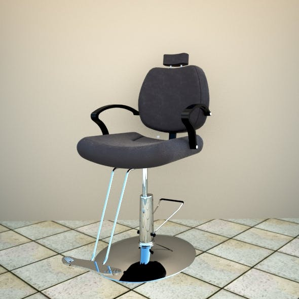 Barber chair - 3DOcean Item for Sale