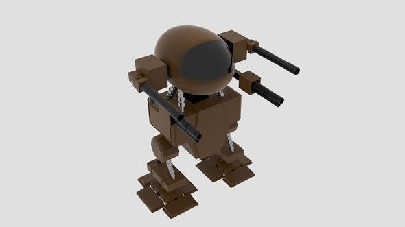 Mech Capsule - 3DOcean Item for Sale