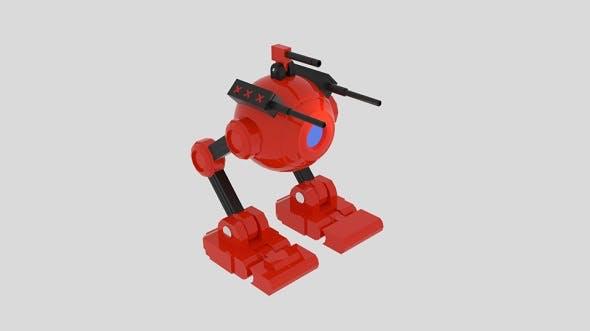 Spherobot - 3DOcean Item for Sale