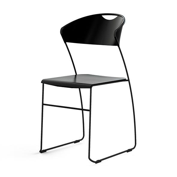 Juliette chair by Hannes Wettstein - 3DOcean Item for Sale