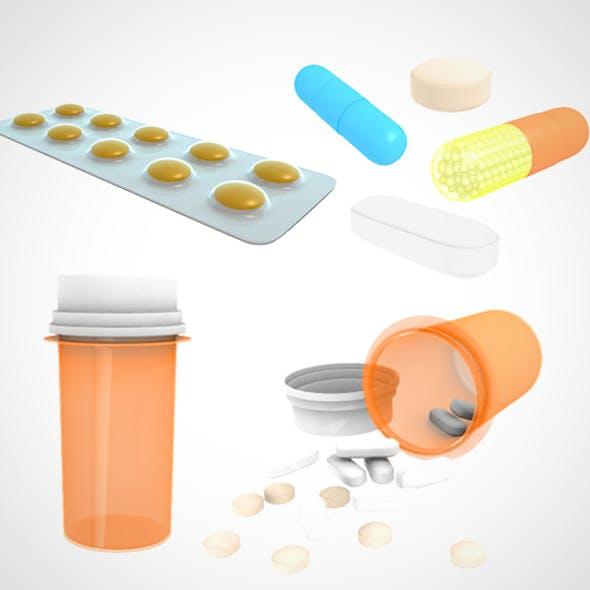 Medical Pill 001