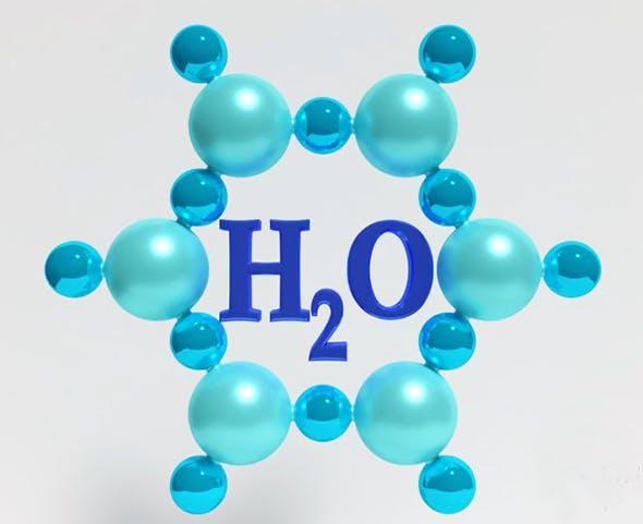 water molecule - 3DOcean Item for Sale