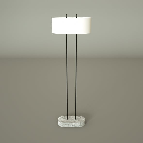 Shiro Floor Lamp - 3DOcean Item for Sale