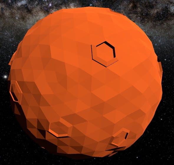 Low Poly Mars - 3DOcean Item for Sale