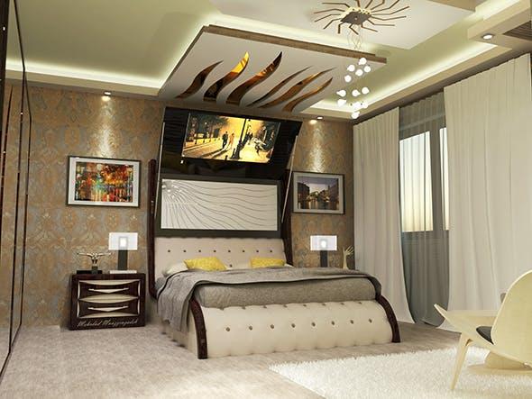 Creative Bedroom - 3DOcean Item for Sale