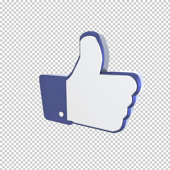 Facebook Like - 3DOcean Item for Sale