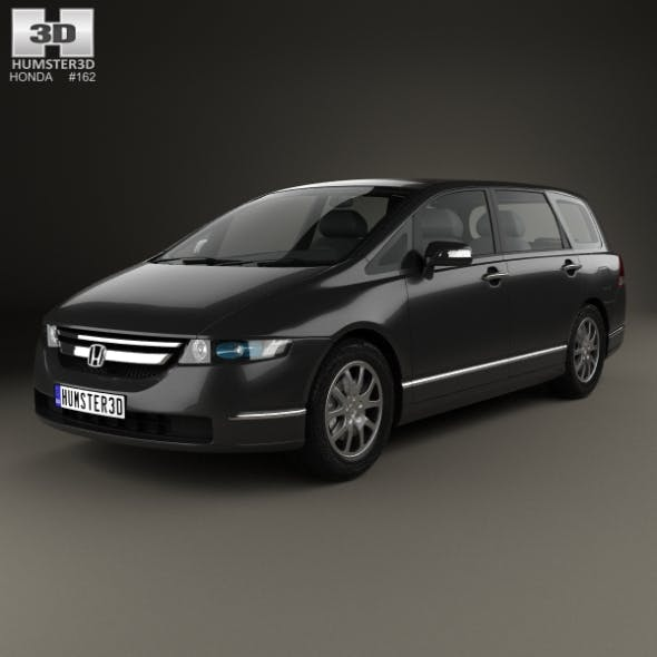 Honda Odyssey (RB1) (JP) 2003 - 3DOcean Item for Sale