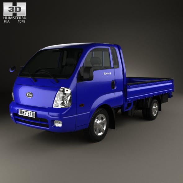 Kia Bongo (PU) Pickup 2004 - 3DOcean Item for Sale