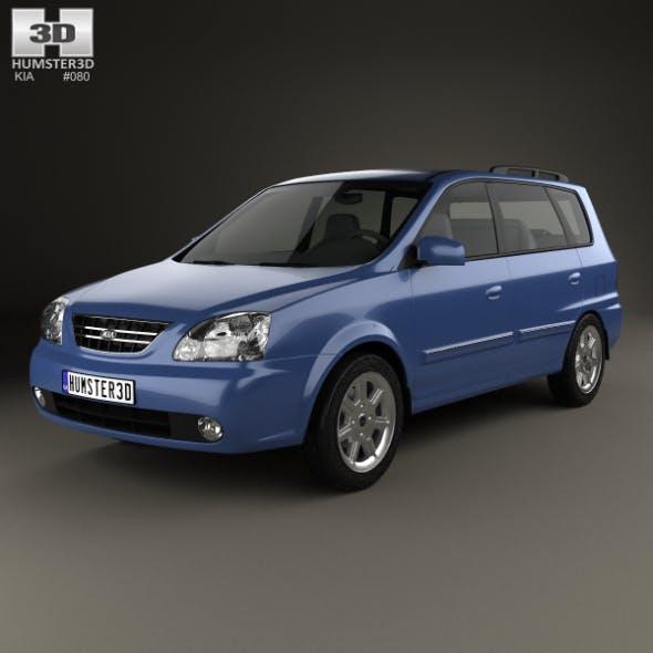 Kia Carens (RS) 2002 - 3DOcean Item for Sale
