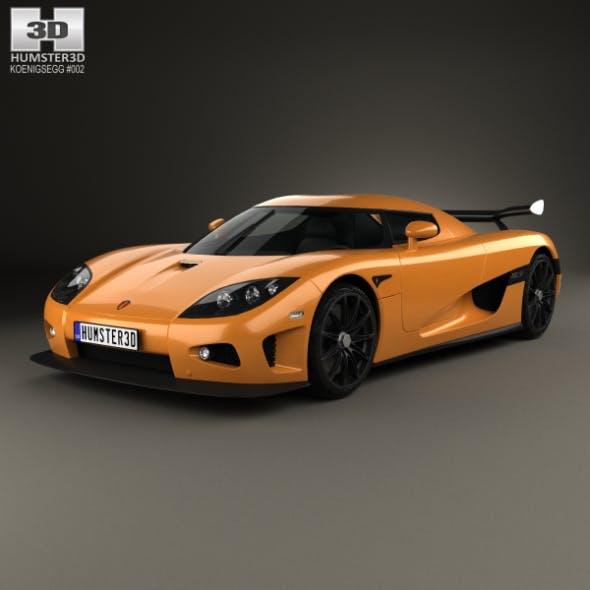 Koenigsegg CCXR 2007 - 3DOcean Item for Sale