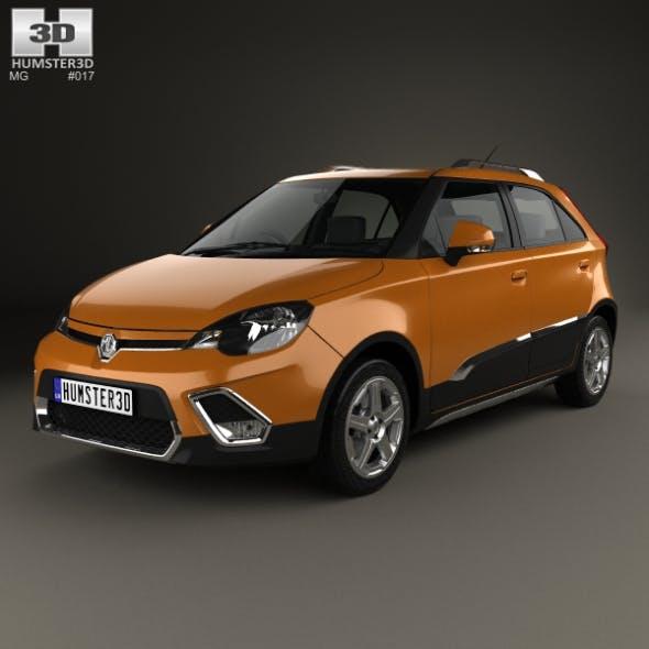 MG 3 Xross 2011 - 3DOcean Item for Sale