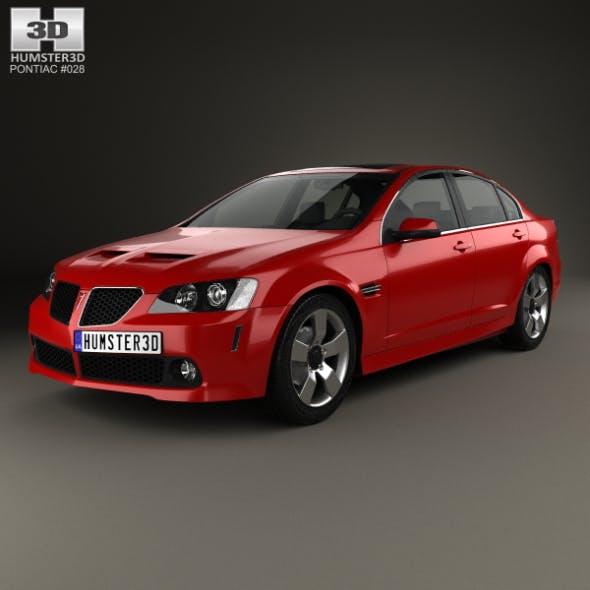 Pontiac G8 GT 2007 - 3DOcean Item for Sale