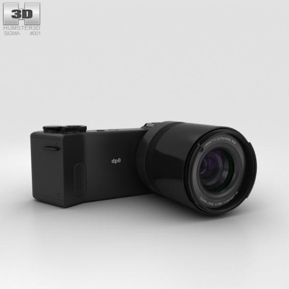 Sigma DP0 Quattro - 3DOcean Item for Sale