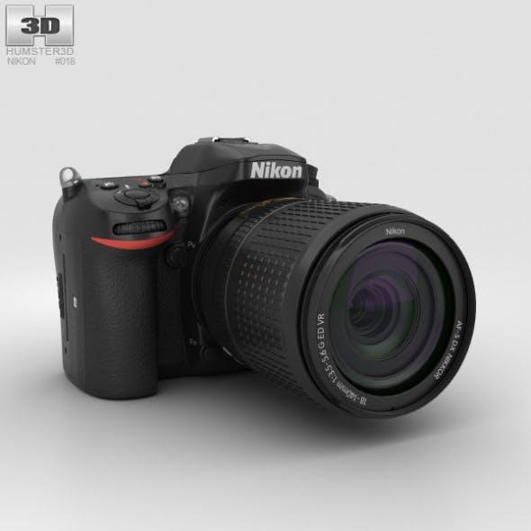 Nikon D7200 - 3DOcean Item for Sale