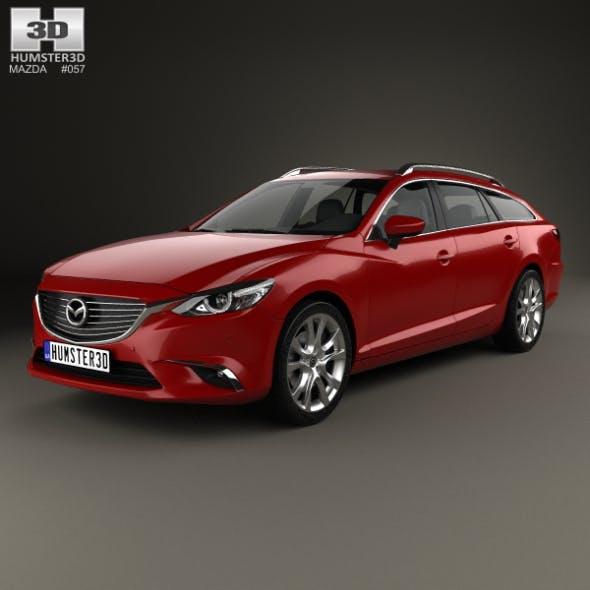 Mazda 6 GJ wagon 2015 - 3DOcean Item for Sale