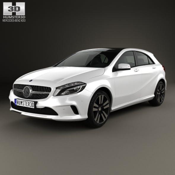 Mercedes-Benz A-Class Uban Line 2015 - 3DOcean Item for Sale