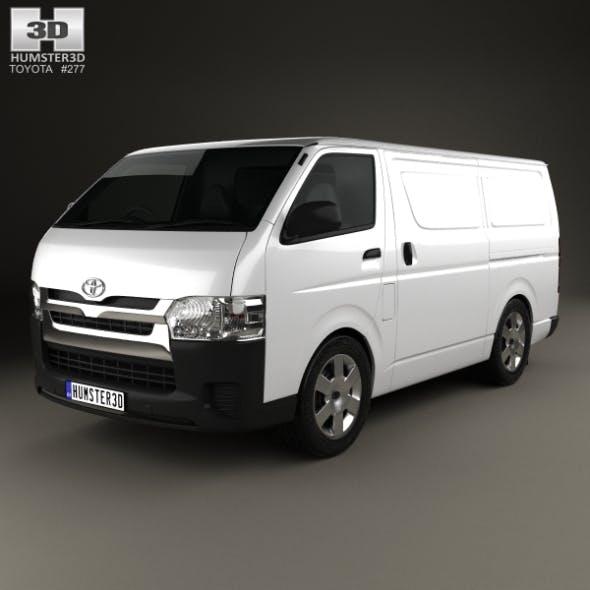 Toyota HiAce SWB Panel Van 2013