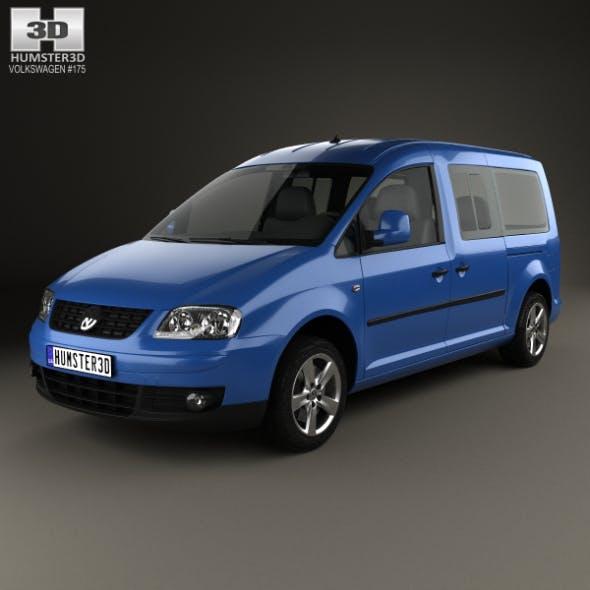 Volkswagen Caddy Maxi 2004 - 3DOcean Item for Sale