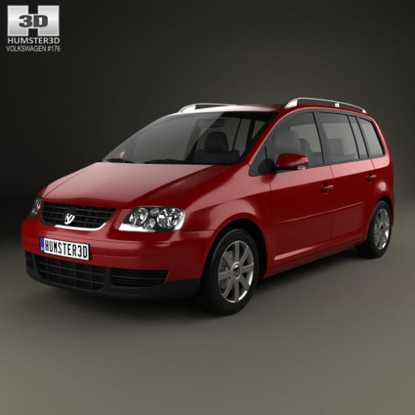 Volkswagen Touran 2003 - 3DOcean Item for Sale