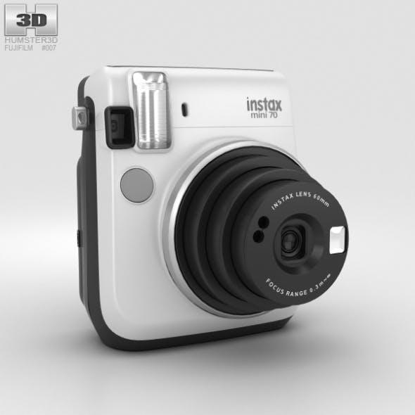 Fujifilm Instax Mini 70 White - 3DOcean Item for Sale