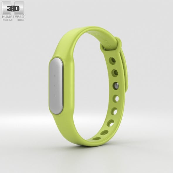 Xiaomi Mi Band Green - 3DOcean Item for Sale