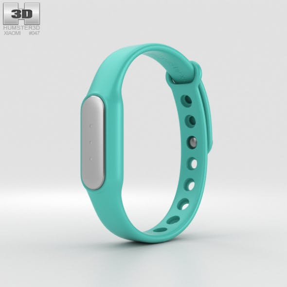 Xiaomi Mi Band Light Blue - 3DOcean Item for Sale