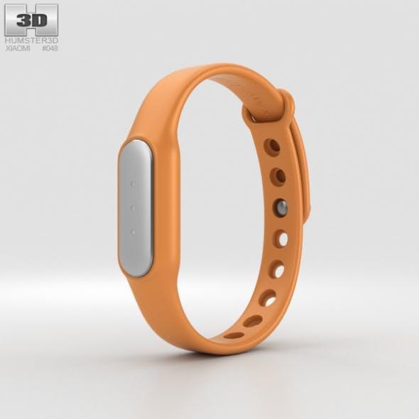 Xiaomi Mi Band Orange - 3DOcean Item for Sale