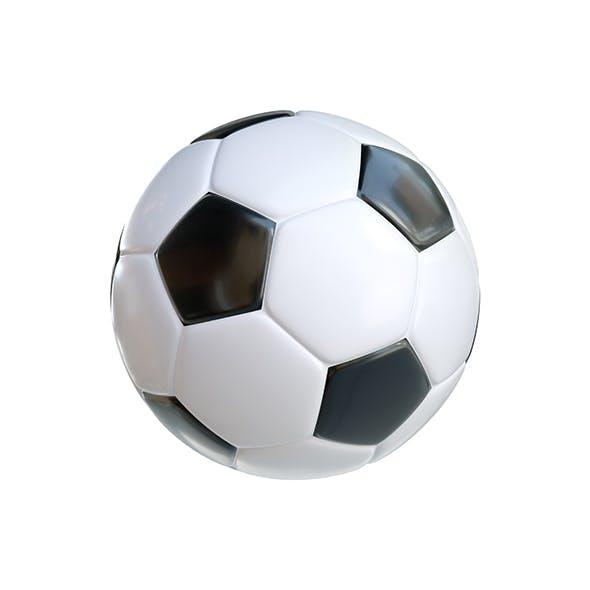 Soccer Ball Classic Black White