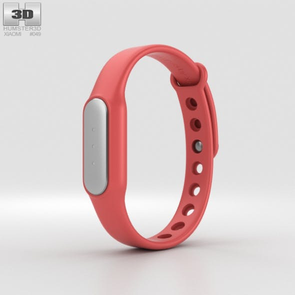 Xiaomi Mi Band Red - 3DOcean Item for Sale