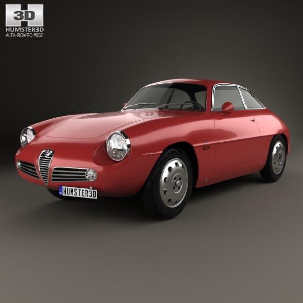 Alfa Romeo Giulietta 1960 - 3DOcean Item for Sale