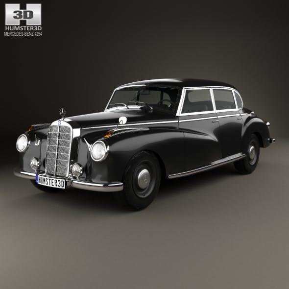 Mercedes-Benz 300 (W186) Limousine 1951 - 3DOcean Item for Sale