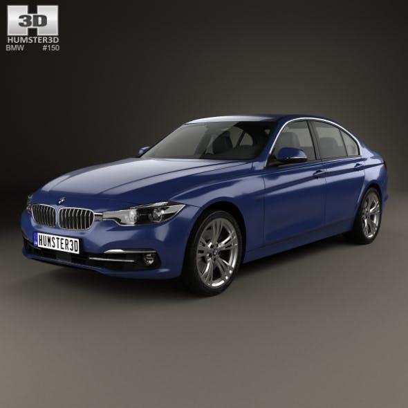 BMW 3 Series (F30) Sport Line 2015 - 3DOcean Item for Sale