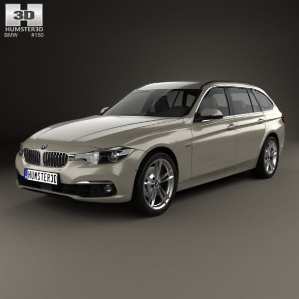 BMW 3 Series (F31) Touring Luxury Line 2015 - 3DOcean Item for Sale