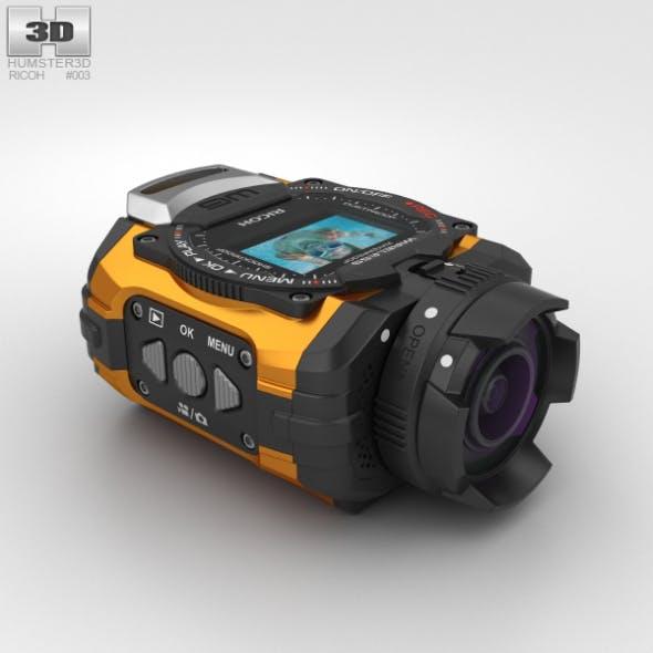 Ricoh WG-M1 Orange - 3DOcean Item for Sale