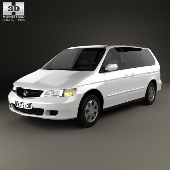 Honda Odyssey 1999 - 3DOcean Item for Sale