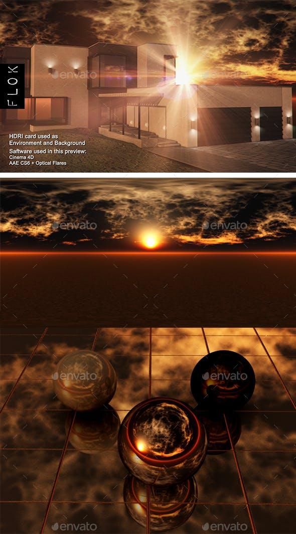 Sunset Desert 103 - 3DOcean Item for Sale
