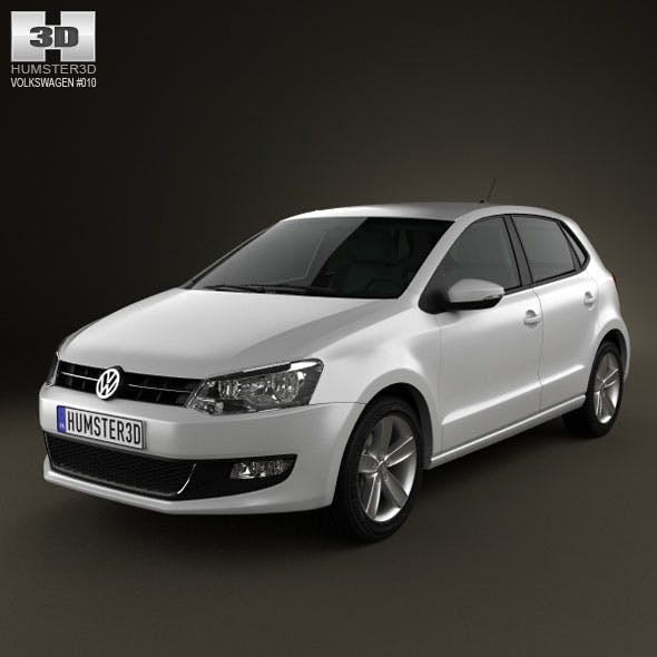 Volkswagen Polo 5door 2010 - 3DOcean Item for Sale