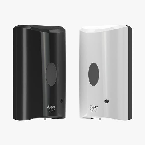 Hand Sanitizer Dispenser - 3DOcean Item for Sale