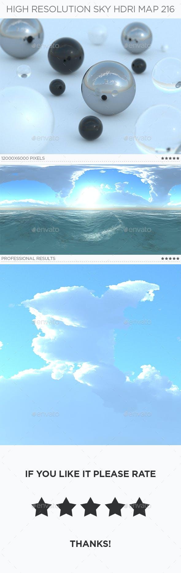 High Resolution Sky HDRi Map 216 - 3DOcean Item for Sale