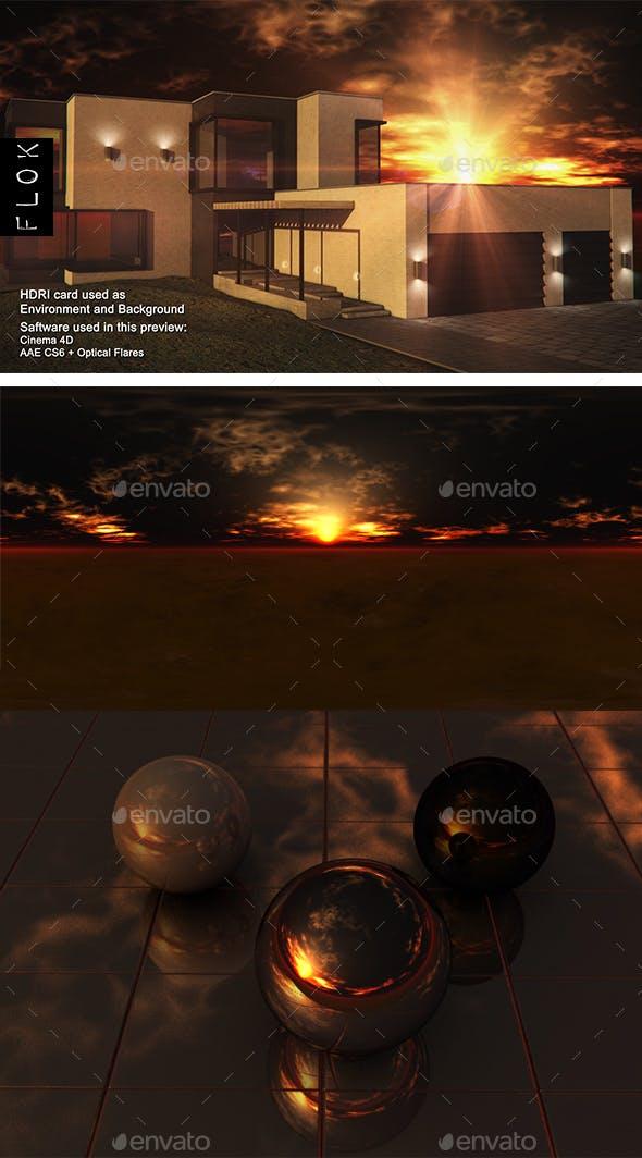 Sunset Desert 104 - 3DOcean Item for Sale