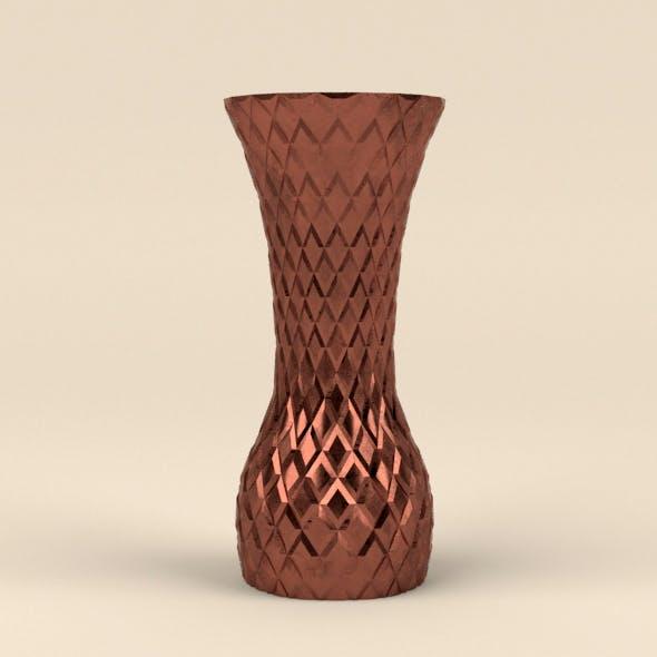 Copper vase - 3DOcean Item for Sale