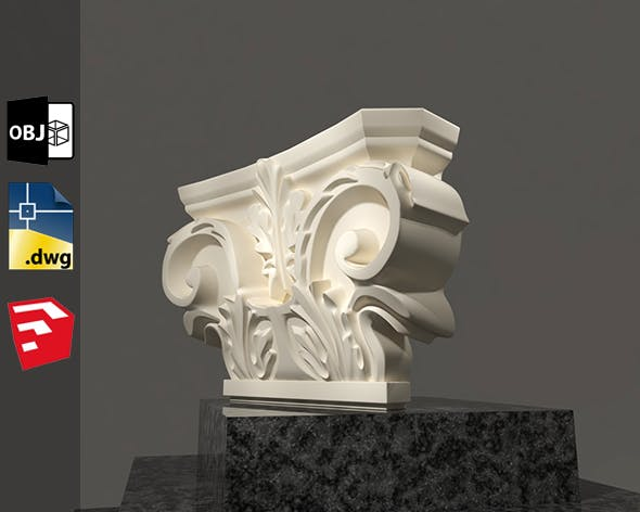 Grecian Classic 3D Model For Sketchup Pack 1 by Salamzadeh